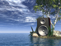 Sound stock illustration