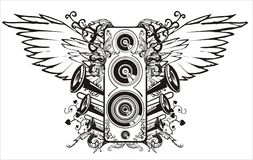 Sound. This image is a vector illustration and can be scaled to any size without loss of resolution Stock Photography