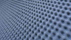 Sound absorber sheet grey color. Sound absorber sheet grey color and very soft material for professional sound recording studio royalty free stock images
