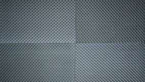 Sound absorber sheet grey color. stock images