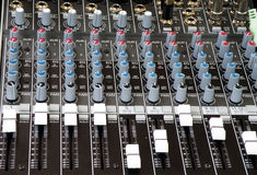 Sound And Music Mixer Of DJ Stock Photography
