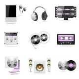 Sound And Music Vector Icon Stock Image
