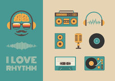 Sound And Rhythm Stock Images