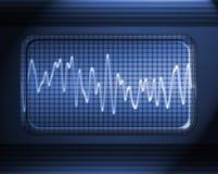 Sound or audio wave Stock Photos