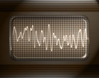 Sound or audio wave Stock Photos