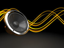 Sound background Royalty Free Stock Photo