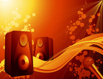 Sound_background Stock Images