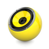 Sound ball Royalty Free Stock Photography