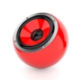 Sound ball Stock Image