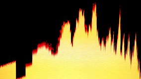 Sound bars stock video