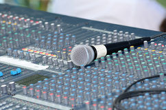 Sound Board Royalty Free Stock Photography