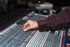 The sound board royalty free stock images