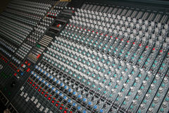 Sound board Royalty Free Stock Photos