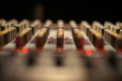Sound Board Abstract Stock Images