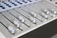 Sound board - mixer Stock Photography