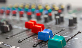 Sound board Stock Image