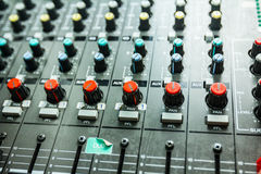 Sound board Royalty Free Stock Images