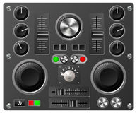 Sound board or studio controls Royalty Free Stock Photo