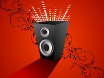 Sound box stock photo