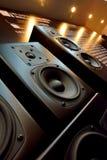 Sound box and acoustics equipment Stock Image