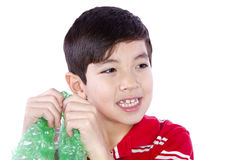 The sound of bubble wrap. Royalty Free Stock Photo