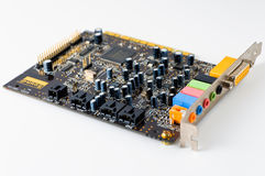 Sound card Stock Photography
