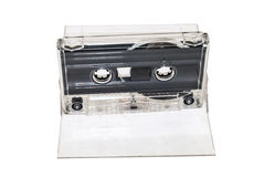 Sound cassette music  isolated Stock Image