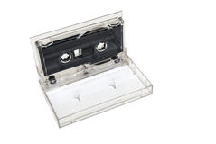Sound cassette music isolated royalty free stock image