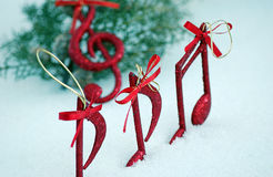 Sound of christmas Royalty Free Stock Images