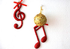 Sound of christmas Stock Images