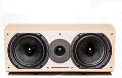 Sound column. The sound column, is photographed on a white background Stock Photography