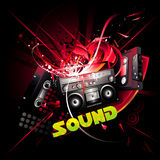 Sound  composition Stock Images