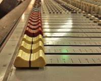 Sound control Royalty Free Stock Photo