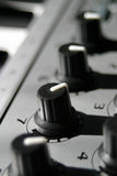 Sound Control Knobs Stock Images