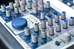 Sound control system. Stock Image