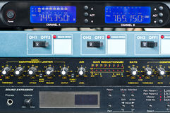 Sound control system. Royalty Free Stock Photography