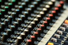 Sound Controller Stock Photo