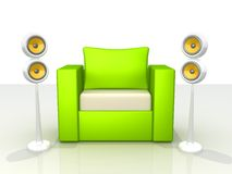 Sound And Design Royalty Free Stock Photo