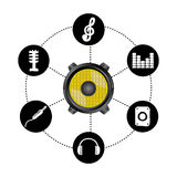 Sound design Stock Photography