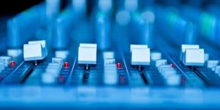 Sound desk Royalty Free Stock Photography