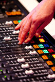 Sound Desk Stock Images
