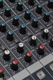 Sound Digital Mixer Stock Photo