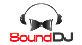 Sound DJ logo Stock Image
