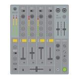 Sound dj mixer Royalty Free Stock Images