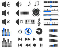 Sound elements Royalty Free Stock Images