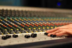 Sound engineer Stock Photography