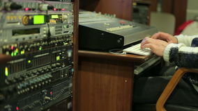 Sound  engineer jobs stock footage