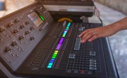 Sound engineer Stock Photography