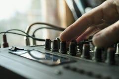 Sound Engineer Stock Image