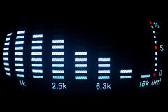 Sound equalizer Royalty Free Stock Photography
